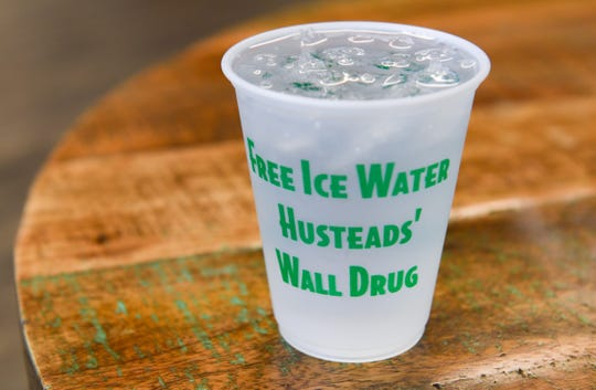 Wall Drug Water: Water, but with a big West River South Dakota legacy. In this case, drink it freely from the specially marked plastic cups.