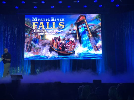Silver Dollar City announced Mystic River Falls as its new ride on Aug. 13, 2019.