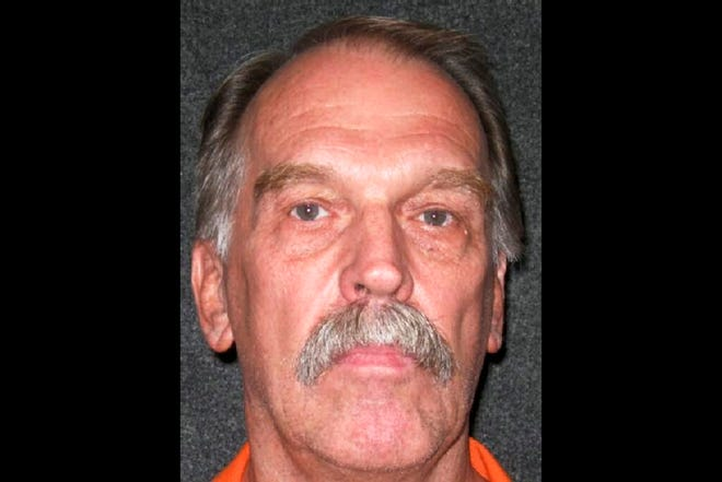 "FILE - This Oct. 24, 2011, file photo released by Utah Department of Corrections shows Utah death row inmate Ron Lafferty. A Utah death row inmate whose double-murder case was featured in the book ""Under the Banner of Heaven"" inched closer to becoming the first person to be executed by firing squad in nearly a decade after losing his latest appeal Monday, Aug. 12, 2019. (Utah Department of Corrections via AP, File)"