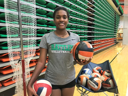 FAMU outside hitter María Yvett García is the MEAC Preseason Volleyball Player of the Year.