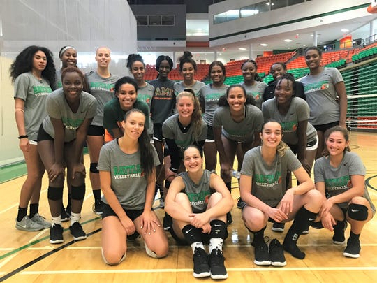 FAMU volleyball was tapped to finish tied for first place in the MEAC Southern Division predicted order of finish in 2019. The Rattlers held their opening practice on Monday, Aug. 12, 2019.