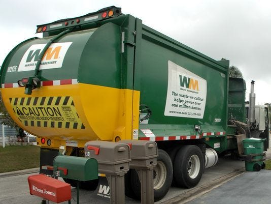 Indian River County plans to continue its contract with Waste Management for garbage and recycling collection through 2025.
