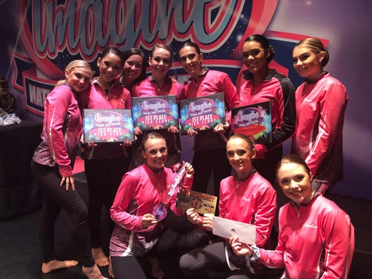 The Encore Dance Academy team won first in the Imagine National Dance Competition, while the team from Dance Moms won third.
