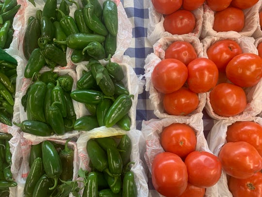 Jalapeno peppers and tomatoes are critical components of salsa, and they will be featured, including onions, this Saturday from 9 to 11 a.m. when the downtown Farmers Market (8thand Ohio) celebrates Salsa Day.