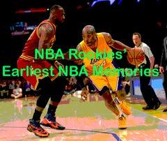 Rookies share their earliest NBA memories