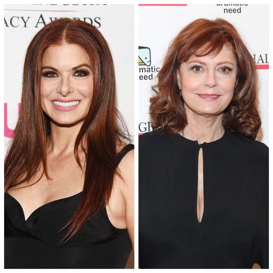 Debra Messing and Susan Sarandon are feuding on Twitter over their political differences, again.