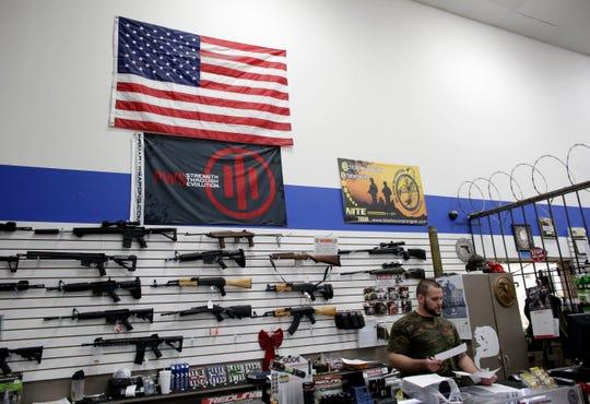 Gun store and gun range in Pompano Beach, Florida.