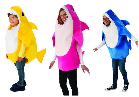 Halloween 2019 Costume Ideas Kids.Baby Shark Events Toys More For Obsessed Kids