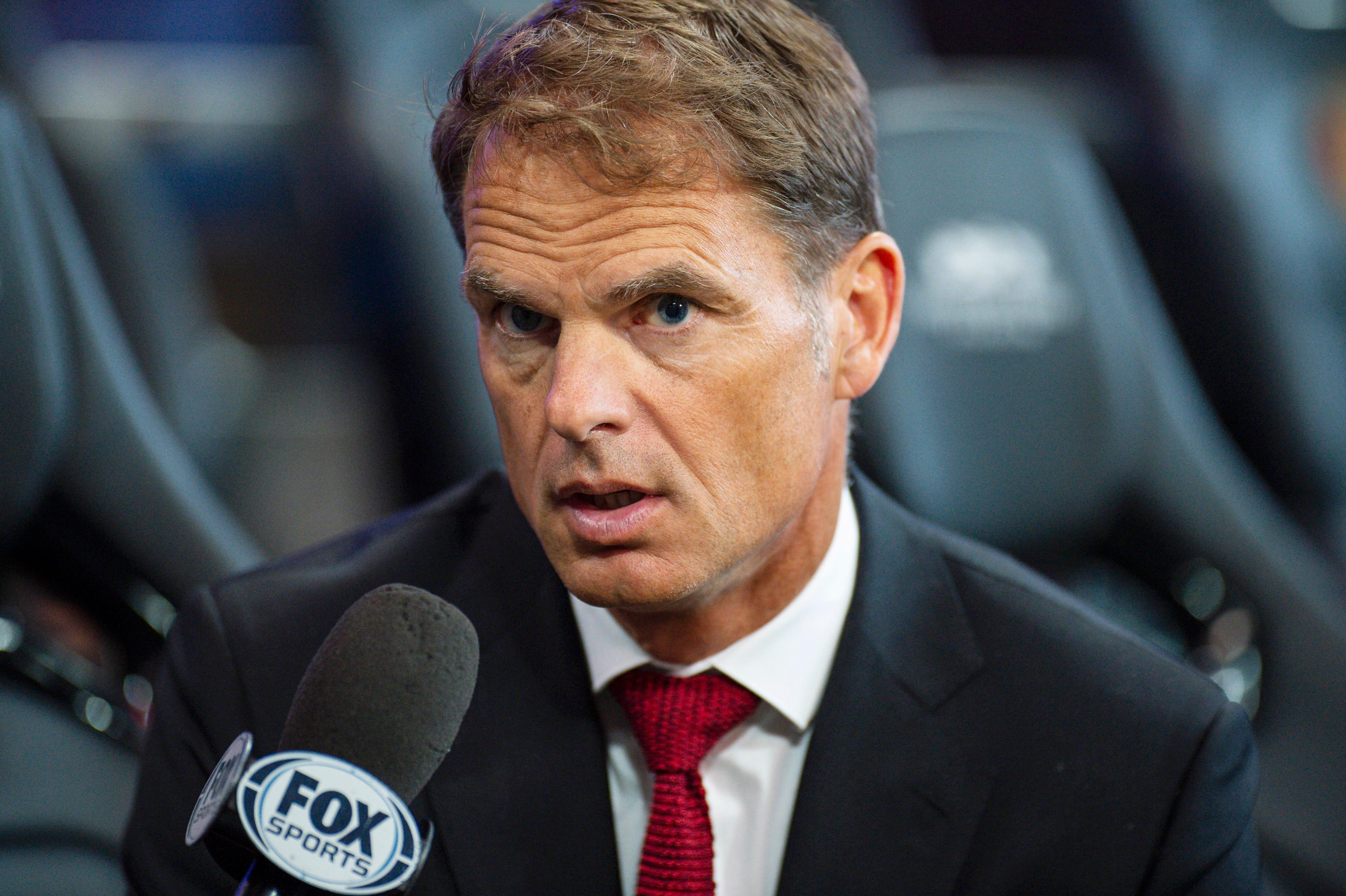 Atlanta United head coach Frank de Boer calls equal pay idea 'ridiculous'