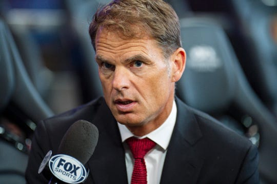 Frank de Boer led Atlanta United to the MLS Cup championship last season.