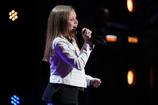 """13-year-old Ansley Burns, a finalist on """"America's Got Talent,"""" will perform at the Key Lime Pie Festival on Saturday, Jan. 18, 2020."""