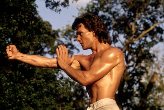 Growing up, Patrick Swayze was both a dancer and a football player.