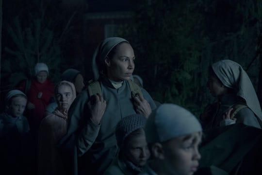 """Amanda Brugel as Rita in """"The Handmaid's Tale."""""""