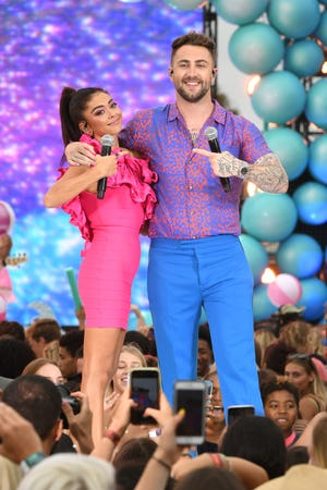 Sarah Hyland and Jordan McGraw perform onstage during FOX's Teen Choice Awards 2019 on Aug. 11, 2019 in Hermosa Beach, Calif.