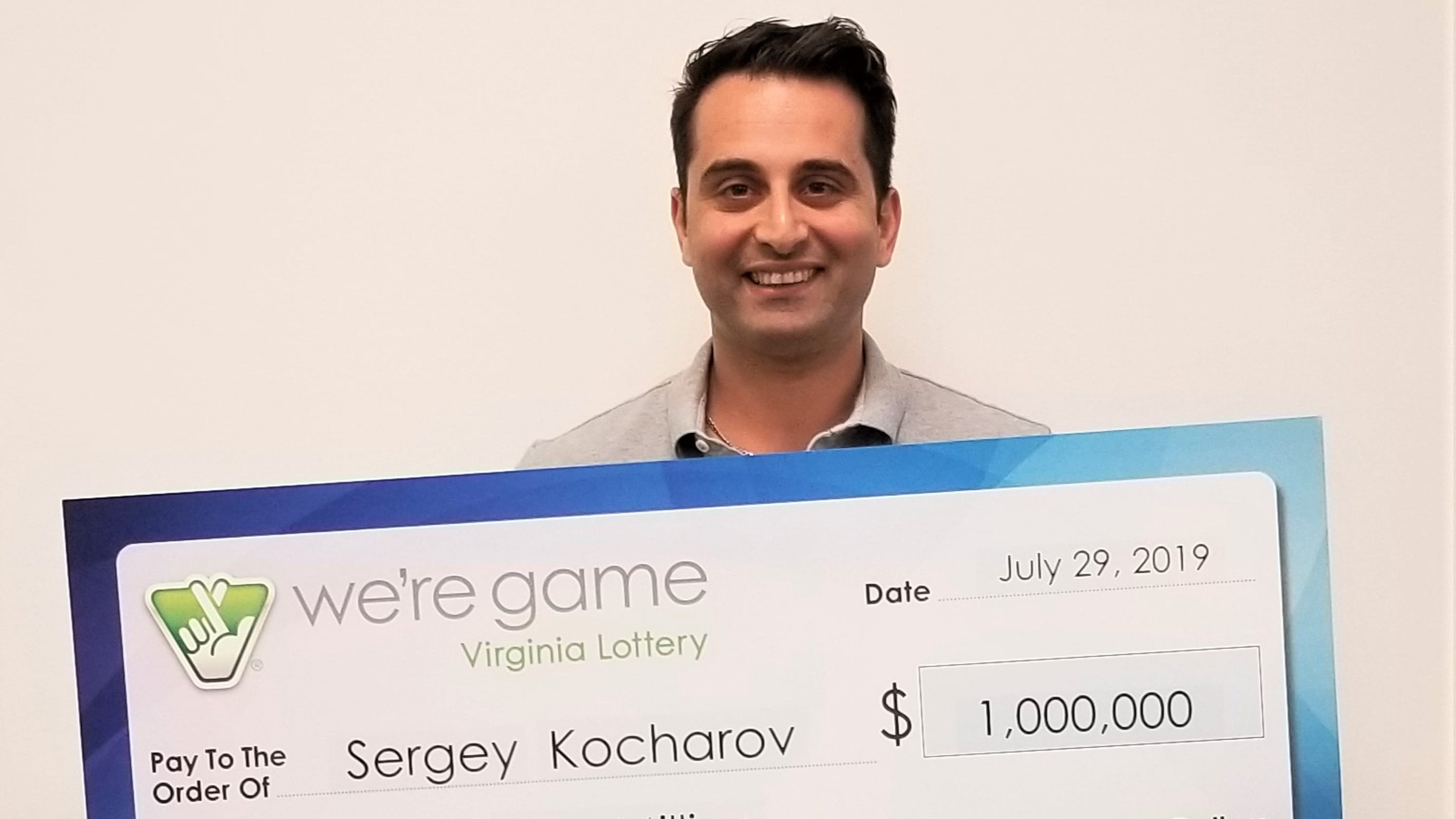 Washington Capitals executive Sergey Kocharov wins $1 million lottery prize