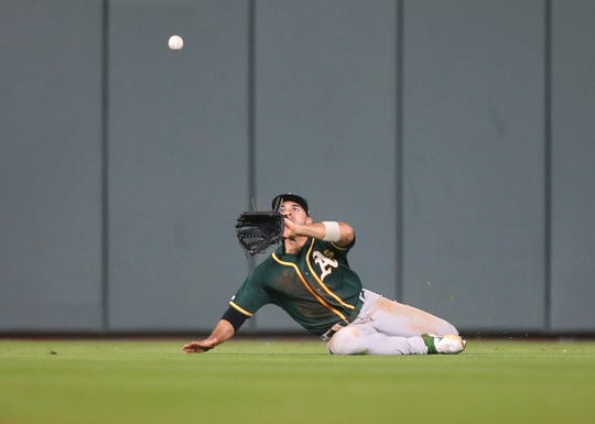 Laureano has been a surprise standout for Oakland.