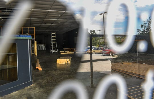 Anderson Axe Throwing, under construction, is coming to 1520 E Greenville Street, Suite H, in Anderson.