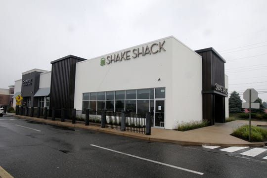 Exterior of the new Shake Shack restaurant at Monmouth Mall in Eatontown, NJ Wednesday, August 14, 2019.
