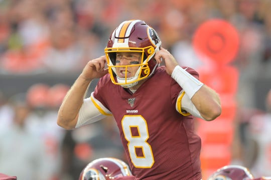 Case Keenum, who threw for almost 400 years in a Week 1 loss at Philadelphia, lead the Redskins against the 1-0 Dallas Cowboys on Sunday in Washington.