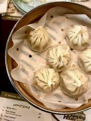 Soup dumplings at Shanghai Noodle House.