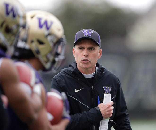 Chris Petersen has 146 victories as a college coach, including two Pac-12 titles and a College Football Playoff appearance with Washington. But the coaches he's hired talk about his life more than coaching success when asked about Petersen's impact.