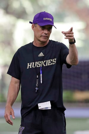 Washington head coach Chris Petersen  has faced situations where the Huskies lose a significant chunk of talent to the next level, only to replenish and continue what's been an upward trend during his first five seasons in charge.  This season will test whether the Huskies can simply continue to reload.