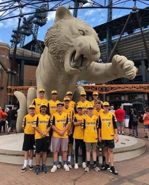 The Viera Suntree Little League players went to Comerica Park in Detroit to see the Tigers play the Mariners on their off-day.