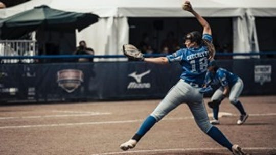 On Saturday, July 27, former Texas A&M University-Corpus Christi softball student-athlete Greta Cecchetti helped lead her Italian National Team to a berth in the 2020 Tokyo Olympics.