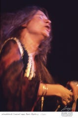 Janis Joplin performs during Woodstock in Bethel, N.Y.