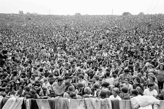 Woodstock Music & Art Fair 1969. Bethel, New York.