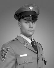 Newly graduated State troopers recently spent several days renovating a memorial dedicated to Trooper Thomas Hanratty on Route 78 in Union County. The memorial resides in the area where Hanratty was struck and killed on April 2, 1992 while walking back to his troop car during a motor vehicle stop. It was erected shortly after Hanratty's death.