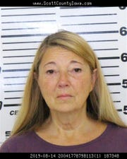 Barbara Ritter, 59, is accused of stealing charity funds meant to help a LeClaire family with their medical bills.