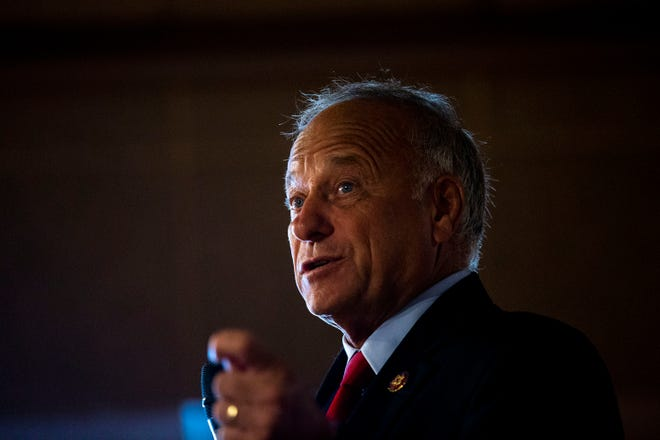 U.S. Rep. Steve King, R-Kiron, was defeated by state Sen. Randy Feenstra in the GOP primary for the 4th District Congressional seat.