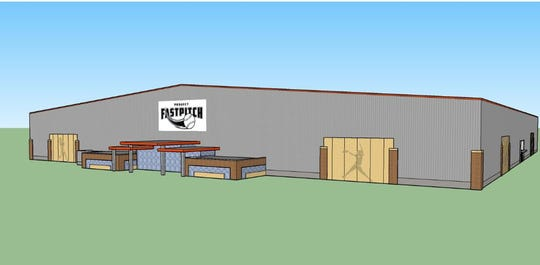 Project Fastpitch, a $32 million facility, will have four indoor and 12 outdoor softball fields.