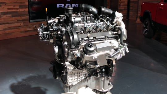 Ram's new 3.0L diesel V6 is a $4,995 option on the 2020 Ram 1500  pickup. It produces 260 hp and 480 lb-ft of torque.