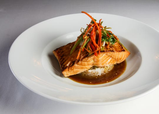 Teriyaki Salmon at Ocean Prime is one of the offerings for Troy Restaurant Week.