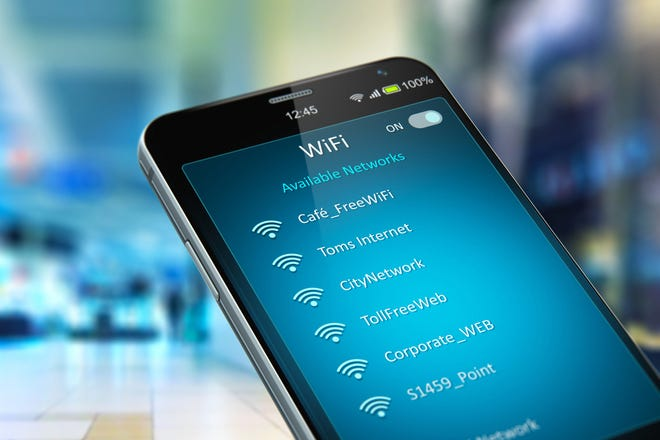Creative abstract wireless networking on mobile devices.
