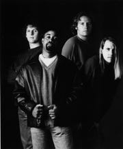 Hootie & the Blowfish in 1995, from left: Mark Bryan, Darius Rucker, Dean Felber and Jim Sonefeld