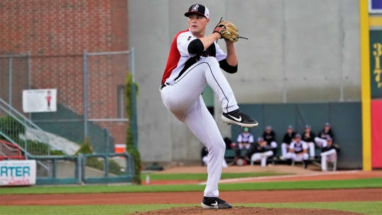 Tarik Skubal has a 1.86 ERA and 60 strikeouts in 29 innings at Double-A Erie this season.