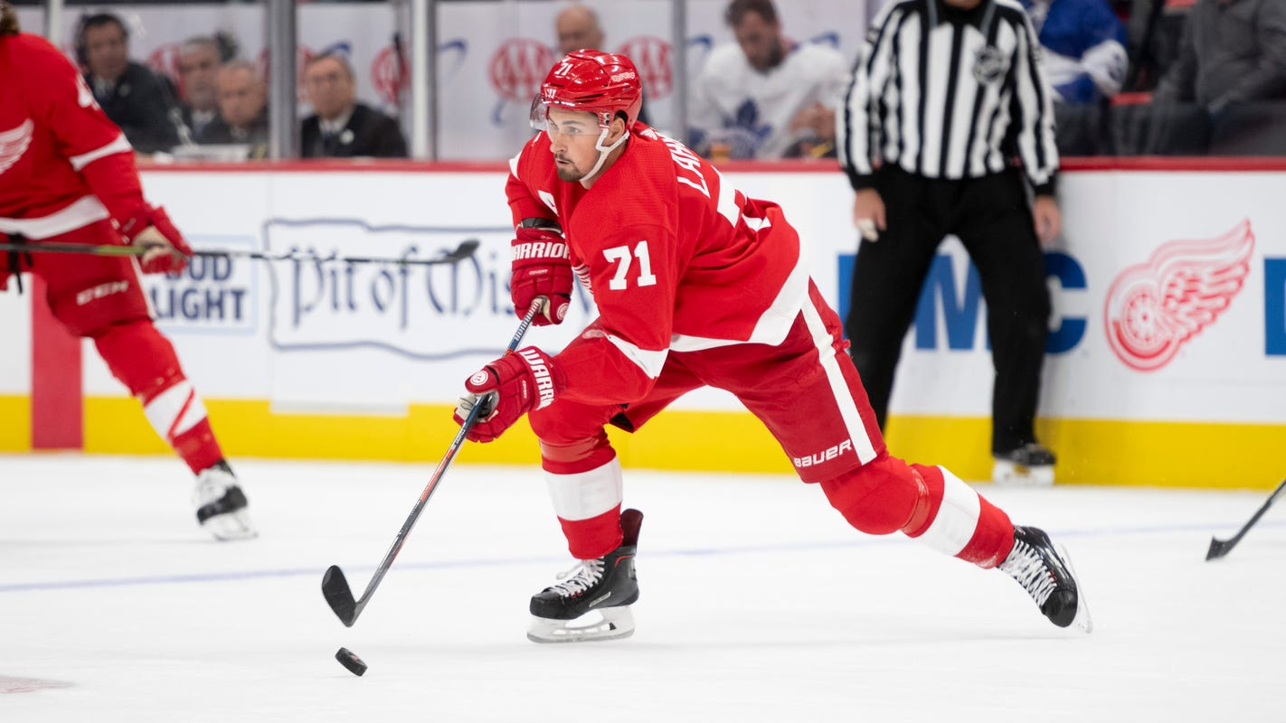 Young and talented forwards keying Red Wings' rebuild