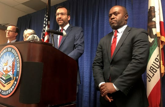 California's public education chief is seeking changes to what would be the nation's first statewide ethnic studies curriculum. State Superintendent Tony Thurmond said Wednesday that he will recommend amendments to better reflect the contributions of Jewish Americans while removing portions that the California Legislative Jewish Caucus found objectionable.