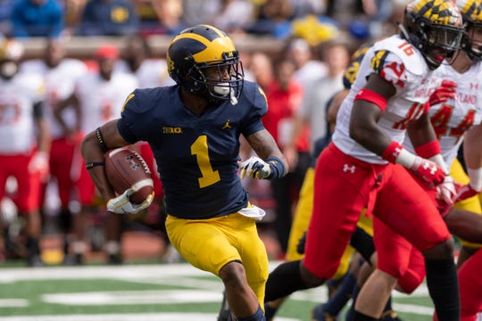 Ambry Thomas was diagnosed with colitis and lost a considerable amount of weight, Michigan coach Jim Harbaugh said Tuesday night while giving an update on preseason camp.