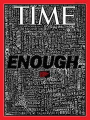 Evansville is included on Time Magazine's gun violence cover chronicling all the mass shootings in the U.S. this year.