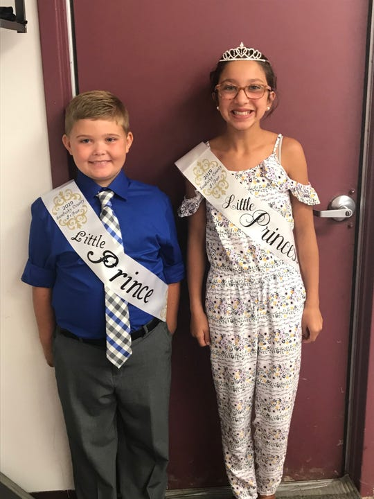 The Little Prince and Little Princess for the Sandusky County Fair are Luke Gowitzka and Peightyn Linton.