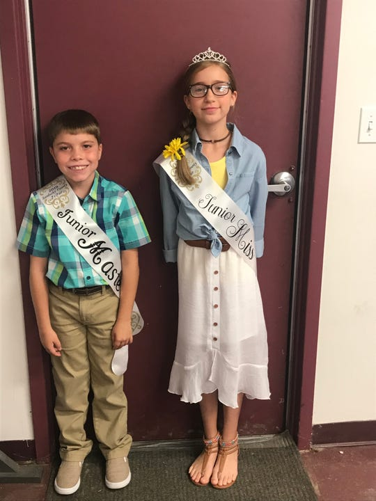 The Junior Master and Junior MIss for the Sandusky County Fair are Parker Eidenhour and Karys O'Brien.
