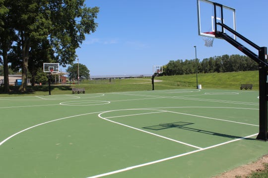 The city is getting public input on a news Fremont parks improvement plan. Fremont city officials want to upgrade the city's parks like it has done at Rodger Young Park, pictured here, with new basketball courts, fence painting and other infrastructure improvements.
