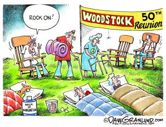 Woodstock's 50th reunion.