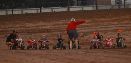 A Big Wheel race for children is among the promotions held this year at Luxemburg Speedway, where first-time promoter Ashley Stevens and Skyhigh Entertainment, LLC are struggling to draw fans.
