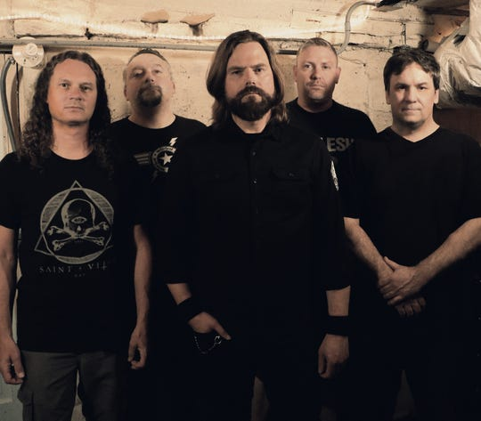 "Crawl, the band formerly known as Bleed, is reuniting Aug. 23 for a show to celebrate the 25th anniversary of their EP ""Womb."" Members are, from left, Bill Kabacinski, Jason DeJardin, Thomas Danz, Tim Pantzlaff and Josh Hovland."