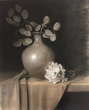 """A Simple Beauty"" by Blake Larson is part of the ""For the Love of Drawing"" exhibit."
